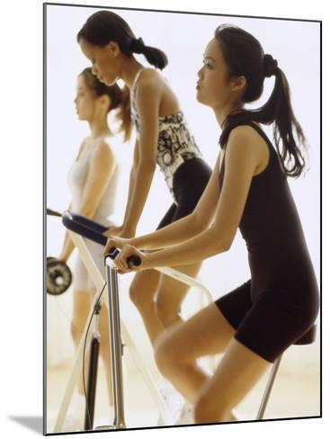 Women Working Out--Mounted Photographic Print