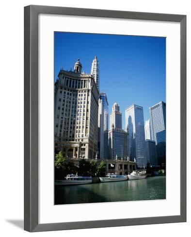 Chicago Illinois, USA--Framed Art Print