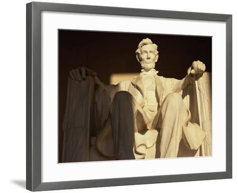 Lincoln Memorial, Washington, D.C., USA--Framed Art Print
