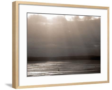 Puget Sound, Washington, USA--Framed Art Print
