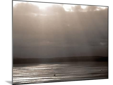 Puget Sound, Washington, USA--Mounted Photographic Print