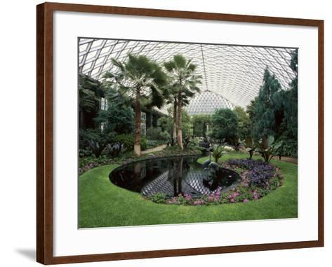 Longwood Gardens, Kennett Square, Pennsylvania, USA--Framed Art Print