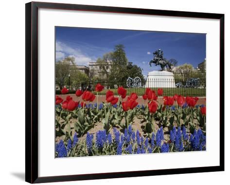 Andrew Jackson Statue, Washington, D.C., USA--Framed Art Print
