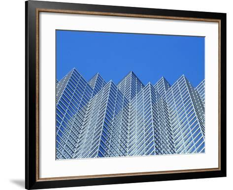 Bank of America, Dallas, Texas, USA--Framed Art Print