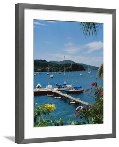 Trois Islets, Martinique--Framed Art Print