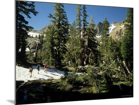 Ansel Adams Wilderness, California, USA--Mounted Photographic Print