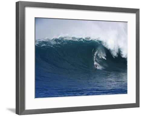 Peahi Maui Hawaii, USA--Framed Art Print