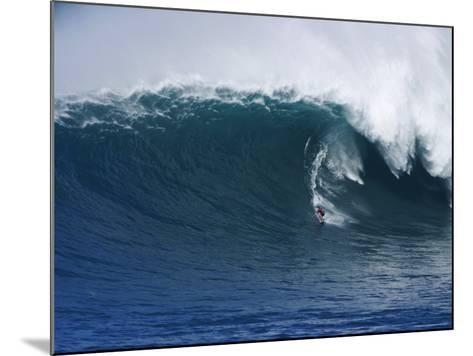 Peahi Maui Hawaii, USA--Mounted Photographic Print