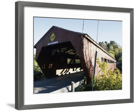 Woodstock, Vermont, USA--Framed Art Print