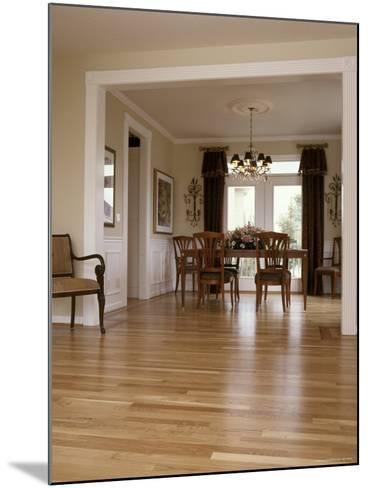 View into a Dining Room From the Foyer--Mounted Photographic Print
