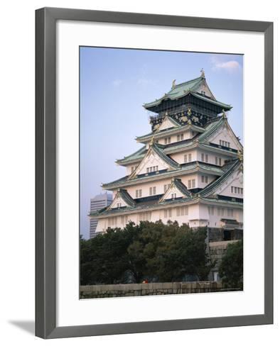 Osaka Castle, Osaka, Honshu, Japan--Framed Art Print