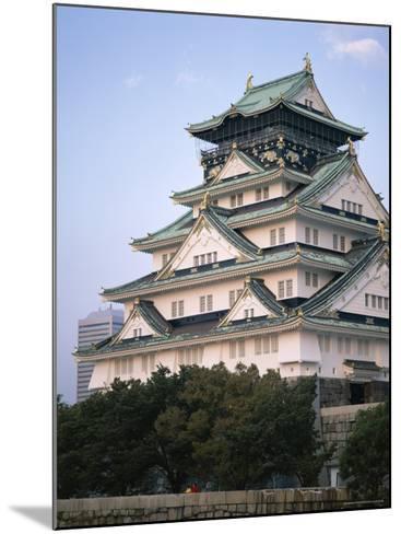 Osaka Castle, Osaka, Honshu, Japan--Mounted Photographic Print