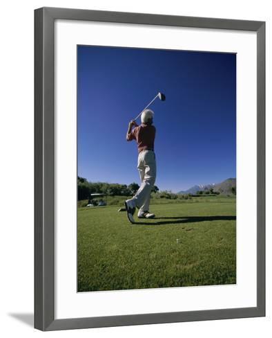 Golf Club at Genoa Lakes, Nevada, USA--Framed Art Print