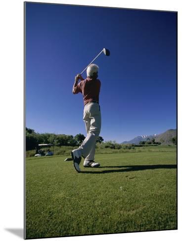Golf Club at Genoa Lakes, Nevada, USA--Mounted Photographic Print