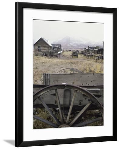 Old Trail Town, Cody, Wyoming, USA--Framed Art Print