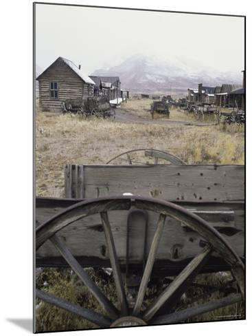Old Trail Town, Cody, Wyoming, USA--Mounted Photographic Print