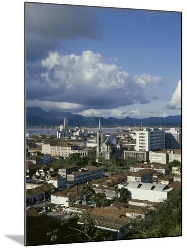 Santos, Sao Paulo, Brazil--Mounted Photographic Print