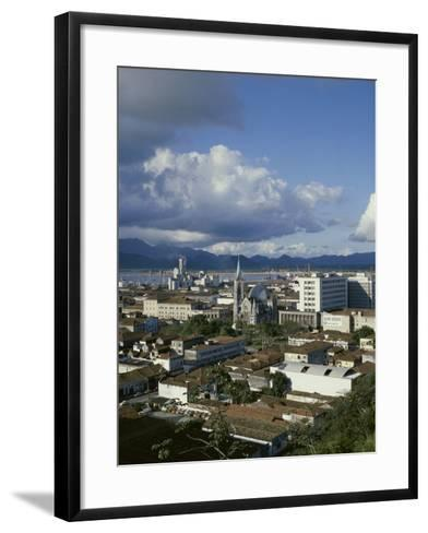 Santos, Sao Paulo, Brazil--Framed Art Print
