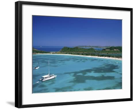 Deep Bay Antigua--Framed Art Print