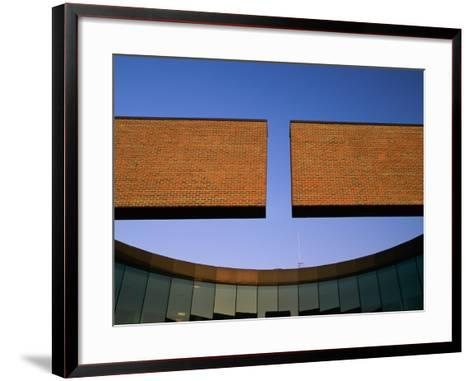 City Hall, Columbus, Indiana, USA--Framed Art Print