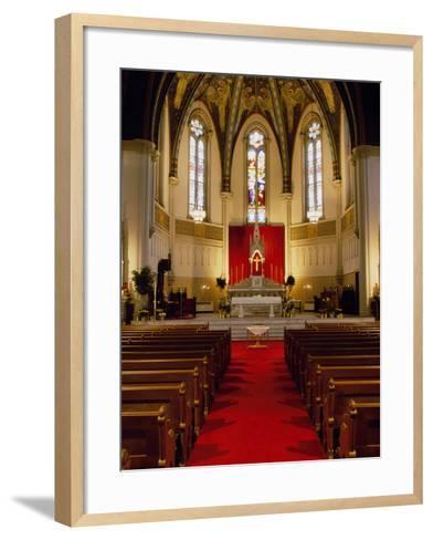 St. John's Church, Indianapolis, Indiana, USA--Framed Art Print