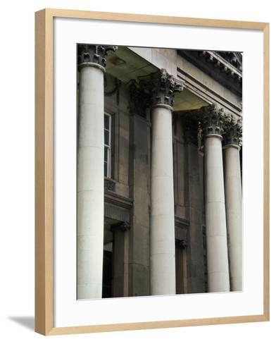 City Hall, Dublin, Ireland--Framed Art Print