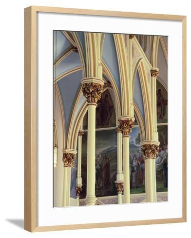 Cathedral of St. John the Baptist, Savannah, Georgia, USA--Framed Art Print