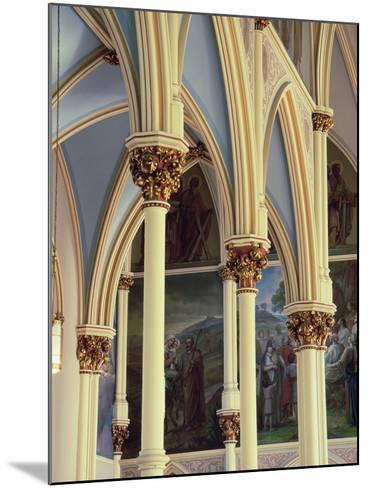 Cathedral of St. John the Baptist, Savannah, Georgia, USA--Mounted Photographic Print