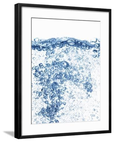 Water with Air Bubbles-Petr Gross-Framed Art Print