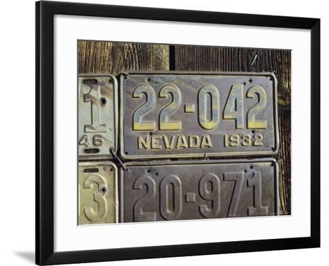 Berlin Ghost Town, Nevada, USA--Framed Art Print