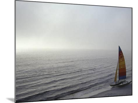 Sailboat in the Sea--Mounted Photographic Print