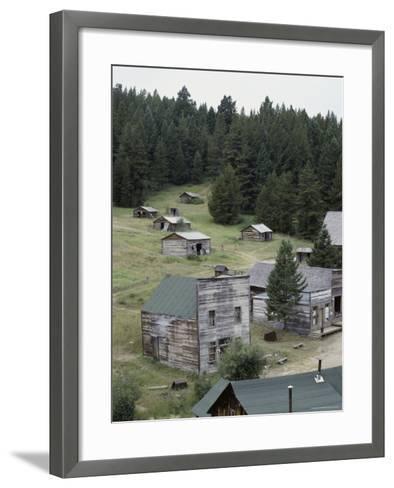 Garnet Ghost Town, Montana, USA--Framed Art Print