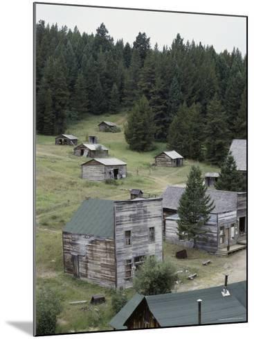Garnet Ghost Town, Montana, USA--Mounted Photographic Print