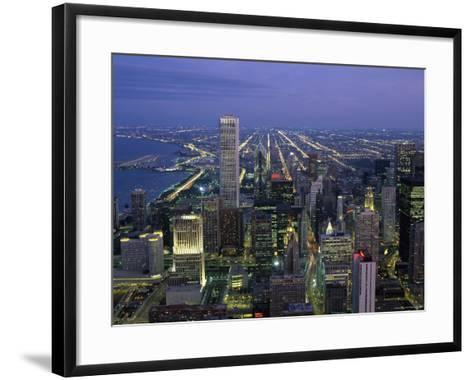 Chicago Illinois, USA--Framed Art Print