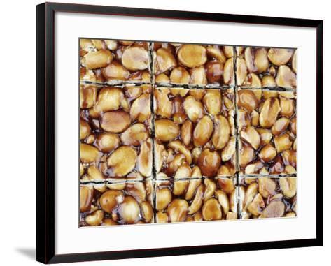 A Homemade Peanut and Caramel Bar-Neil Overy-Framed Art Print