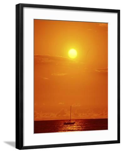 Oahu, Hawaii, USA--Framed Art Print