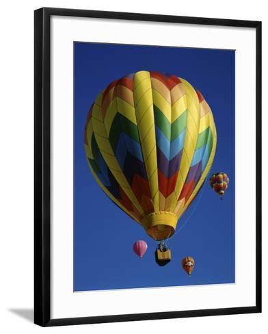 Kodak Albuquerque International Balloon Fiesta New Mexico--Framed Art Print