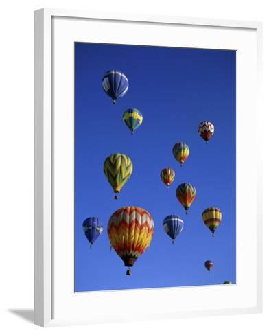 Kodak Albuquerque International Balloon Fiesta New Mexico USA--Framed Art Print