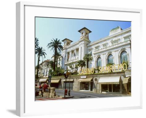 San Remo Casino, San Remo, Italy--Framed Art Print