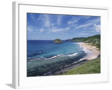 Praia Leon, Fernando de Noronha, Brazil--Framed Art Print