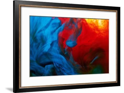 Abstract Paint Splash-Nik_Merkulov-Framed Art Print
