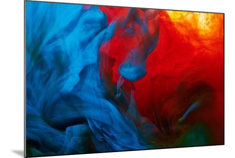 Abstract Paint Splash-Nik_Merkulov-Mounted Photographic Print