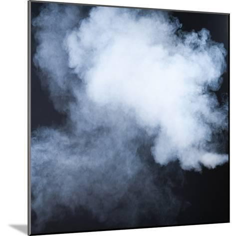 Smoke Isolated on Black- inna_astakhova-Mounted Photographic Print