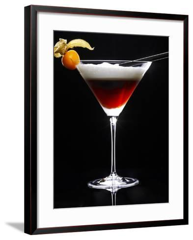 Cocktail Made with Coffee Liqueur-Walter Pfisterer-Framed Art Print