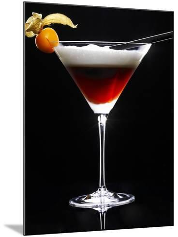 Cocktail Made with Coffee Liqueur-Walter Pfisterer-Mounted Photographic Print