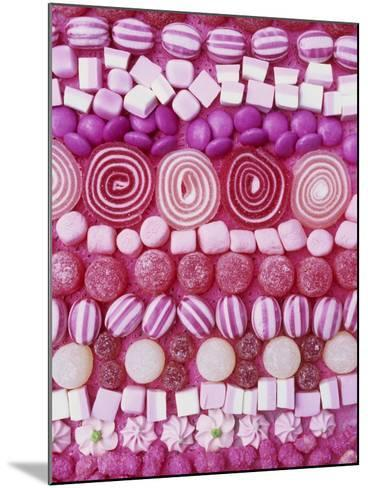 Assorted Pink Sweets-Linda Burgess-Mounted Photographic Print