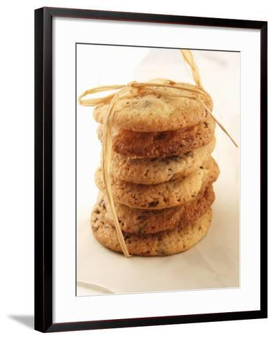Cookies, Stacked and Tied with String-Francine Reculez-Framed Art Print