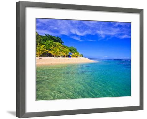 Hideaway Island--Beautiful Tropical Island in Vanuatu-juancat-Framed Art Print