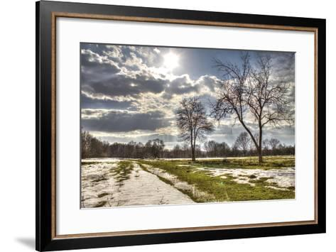 Beautiful Winter Landscape- zlatkozalec-Framed Art Print