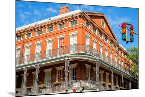 French Quarter-Fotoluminate LLC-Mounted Photographic Print